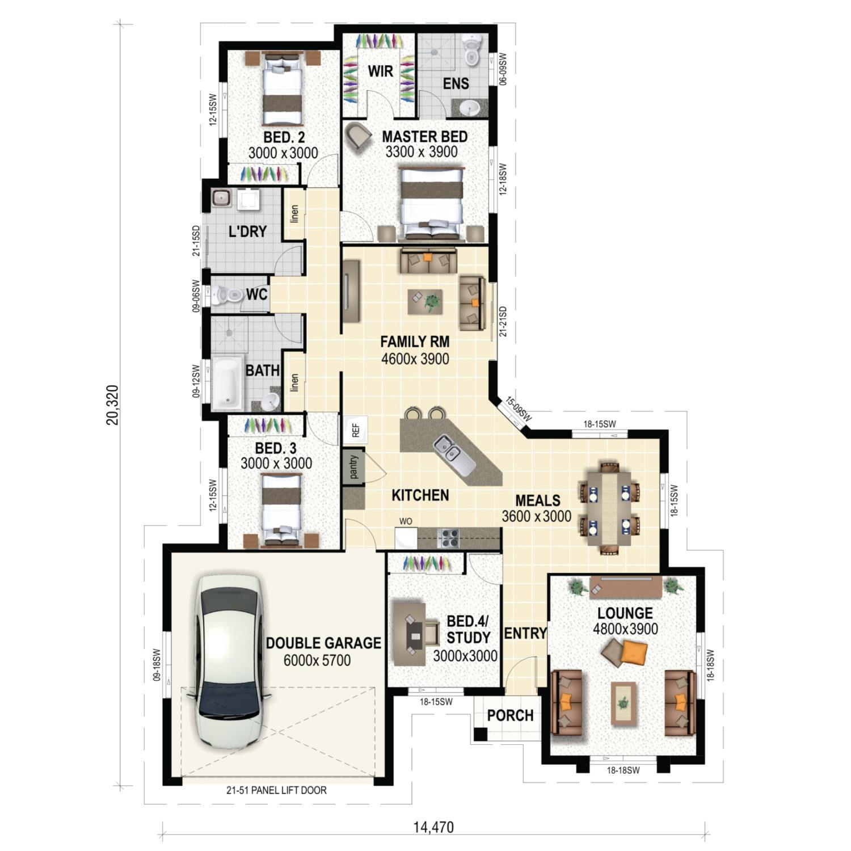 Belmont Floor Plan New Home Design