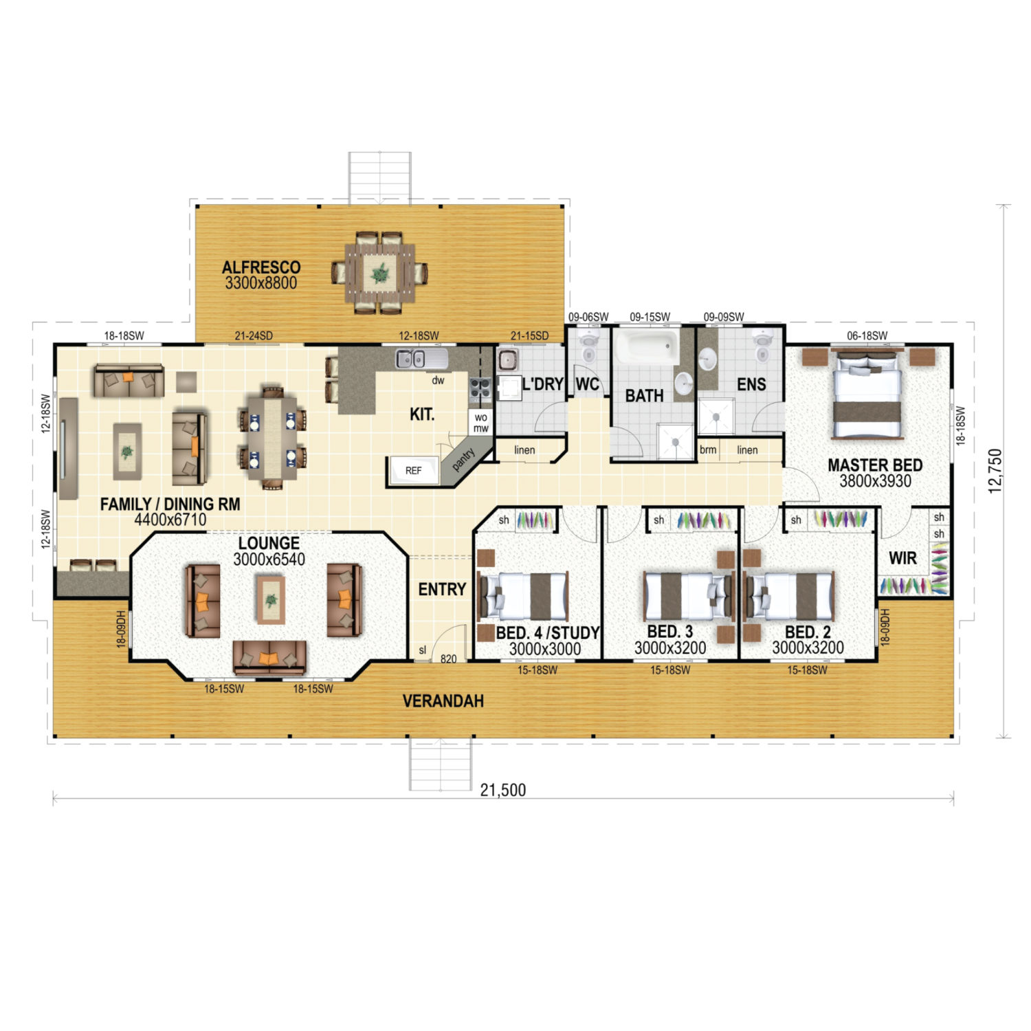 Bremer 235 Floor Plan New Home Design