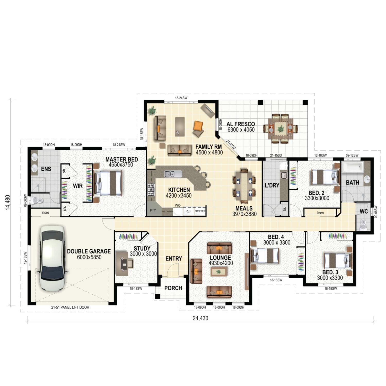 Brookstead Floor Plan New Home Design