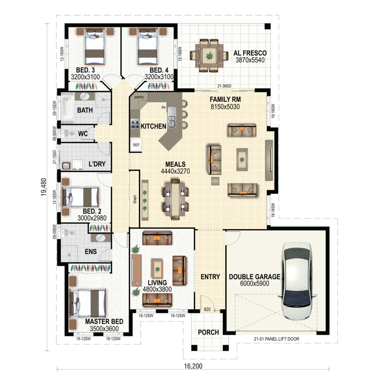 Grange Floor Plan New Home Design