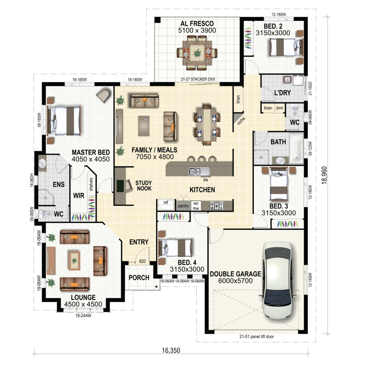 Ascot Floor Plan New Home Design