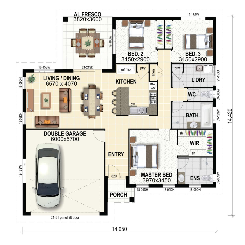 Kalinga Floor Plan New Home Design