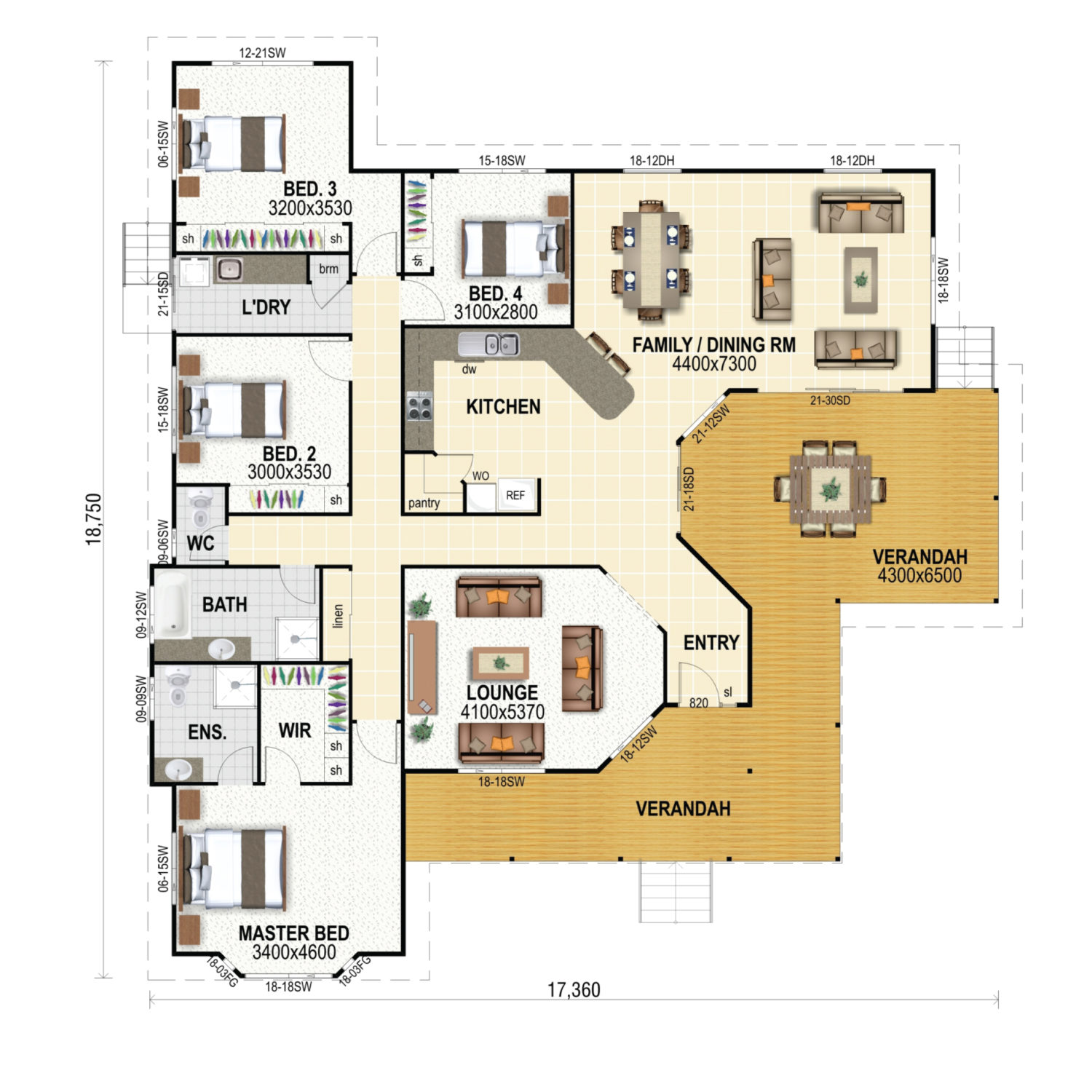 Leichardt 237 Floor Plan New Home Design