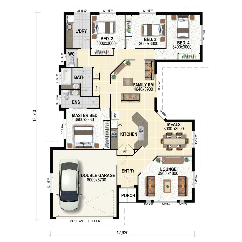 Margate Floor Plan New Home Design