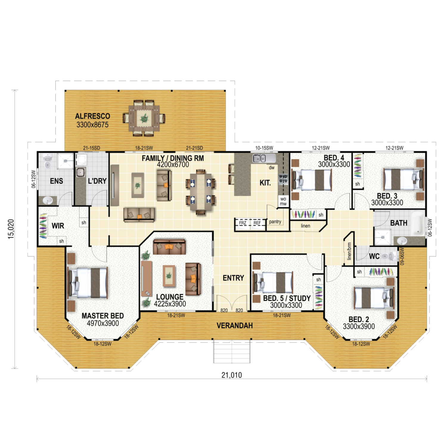 Topaz Floor Plan New Home Design
