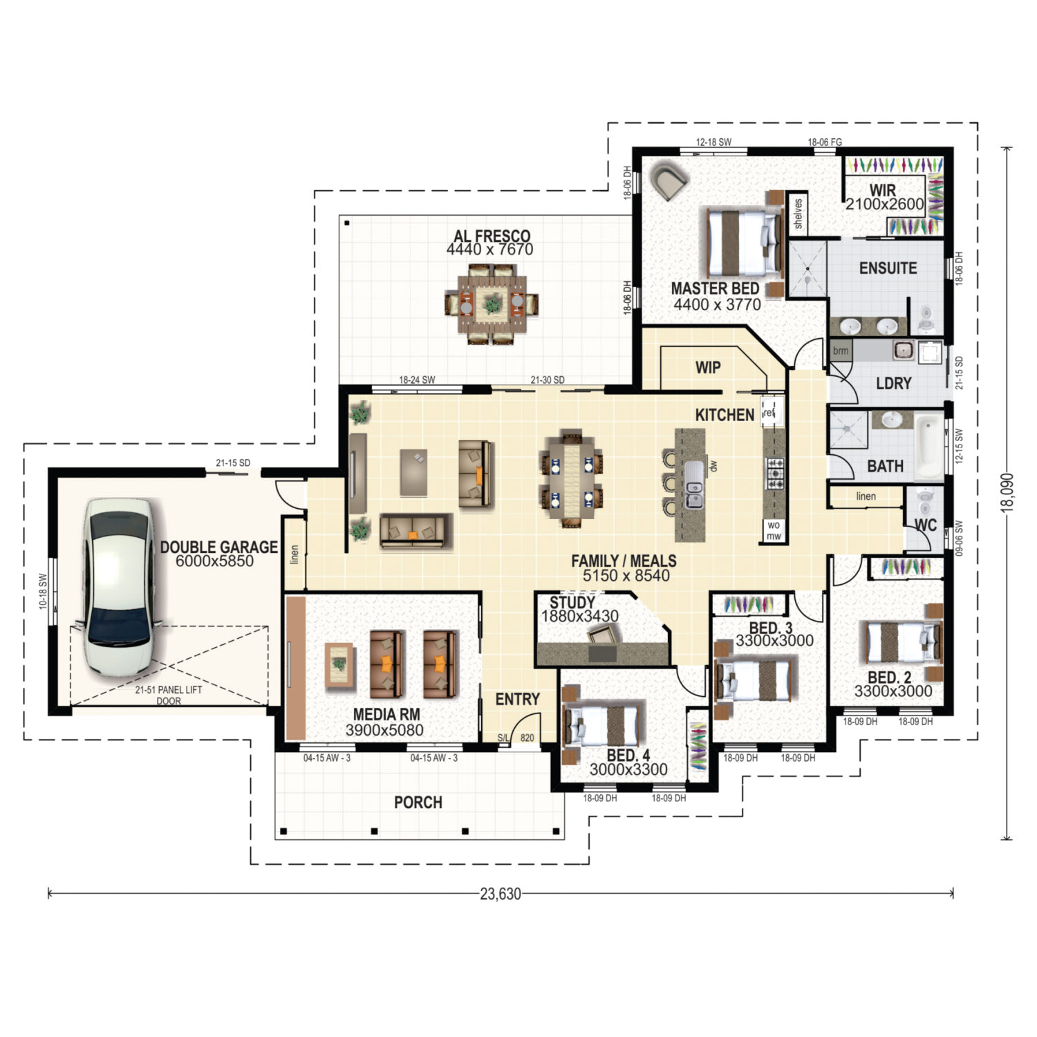 Winton Floor Plan New Home Design