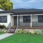 Flinders 183 Weatherboard on Stumps Home Design Render