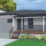 Oakhurst Weatherboard on Stumps Home Design Facade